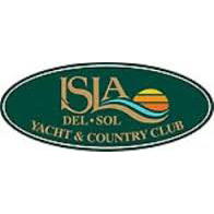 Logo of golf course named Isla Del Sol Golf Yacht and Country Club
