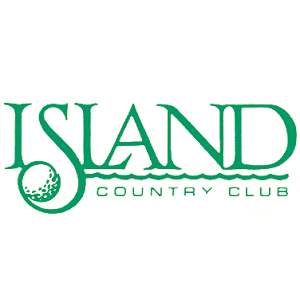 Logo of golf course named Island Country Club
