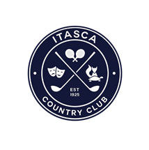Logo of golf course named Itasca Country Club