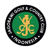 Logo of golf course named Jagorawi Golf and Country Club
