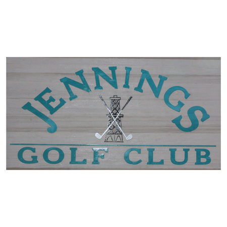 Logo of golf course named Jennings Golf Club