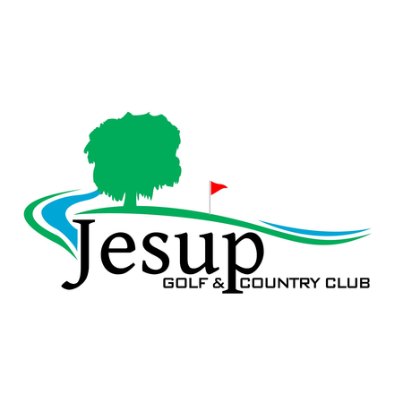 Logo of golf course named Jesup Golf and Country Club