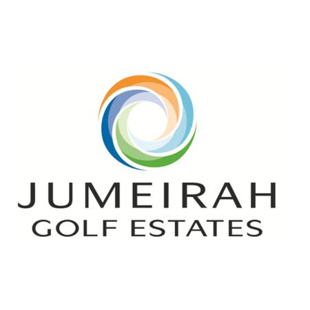 Logo of golf course named Jumeirah Golf Estates - Fire Course