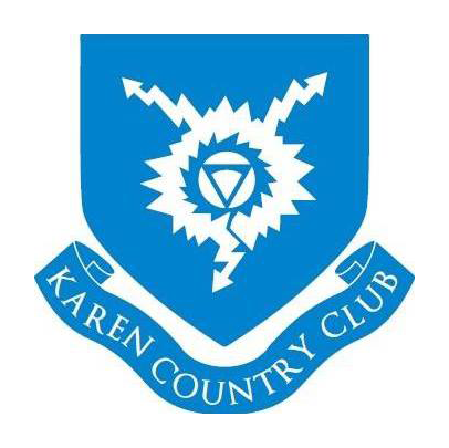 Logo of golf course named Karen Country Club