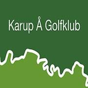 Logo of golf course named Karup A Golf Club