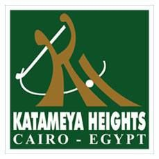 Logo of golf course named Katameya Heights