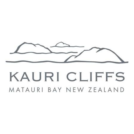 Logo of golf course named Kauri Cliffs