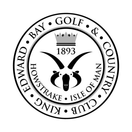 Logo of golf course named King Edward Bay Golf Club
