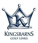 Logo of golf course named Kingsbarns Golf Links