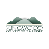 Logo of golf course named Kingwood Golf Club and Resort