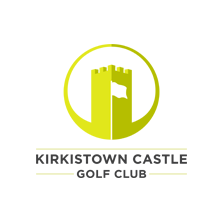Logo of golf course named Kirkistown Castle Golf Club