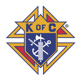 Logo of golf course named Knight's of Columbus Par 3 Golf Course