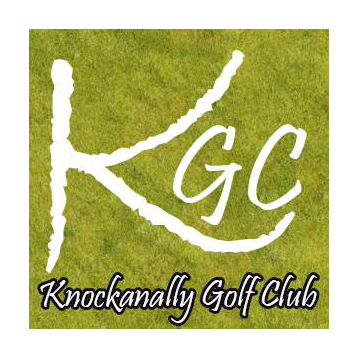 Logo of golf course named Knockanally Golf and Country Club