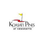 Logo of golf course named Koasati Pines at Coushatta