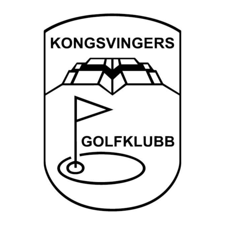 Logo of golf course named Kongsvinger Golfklubb