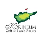 Logo of golf course named Korineum Golf and Beach Resort