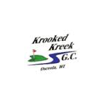 Logo of golf course named Krooked Kreek Golf Course