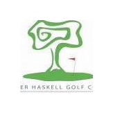 Logo of golf course named Krueger-Haskell Golf Course