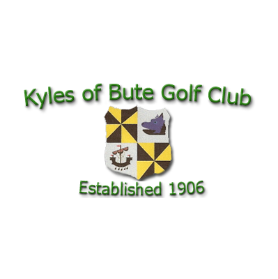 Logo of golf course named Kyles of Bute Golf Club