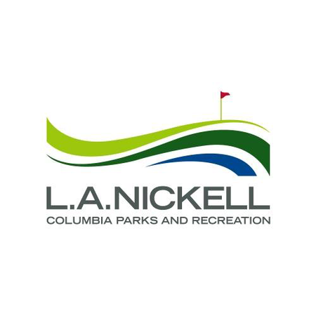 Logo of golf course named L A Nickell Golf Course