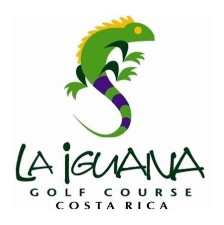 Logo of golf course named La Iguana Golf Course