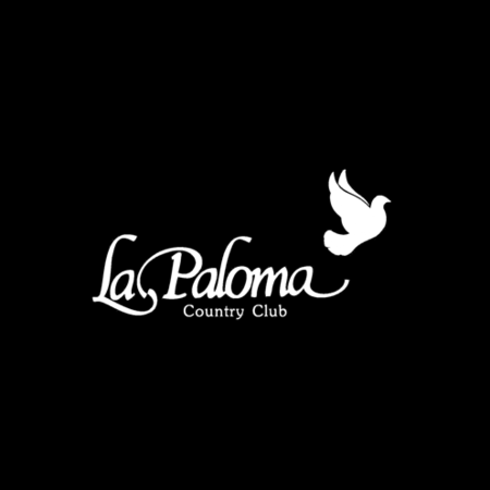 Logo of golf course named La Paloma Country Club