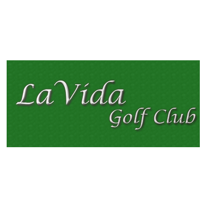 Logo of golf course named La Vida Country Club