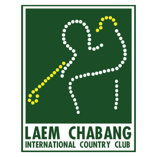 Logo of golf course named Laem Chabang International Country Club