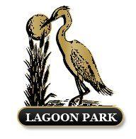 Logo of golf course named Lagoon Park Golf Course