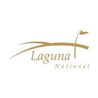 Logo of golf course named Laguna National
