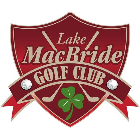 Logo of golf course named Lake Macbride Golf Course