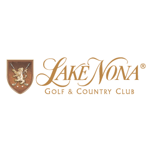 Logo of golf course named Lake Nona Golf and Country Club