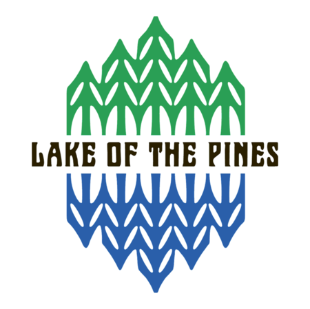 Logo of golf course named Lake of The Pines Country Club