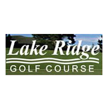 Logo of golf course named Lake Ridge Golf Course