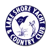 Logo of golf course named Lake Shore Yacht and Country Club