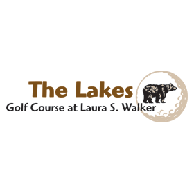 Logo of golf course named Lakes Golf Course at Laura Walker State Park