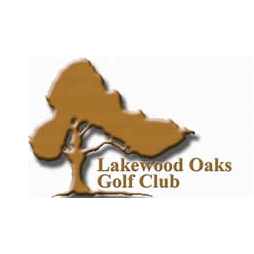 Logo of golf course named Lakewood Oaks Golf Club