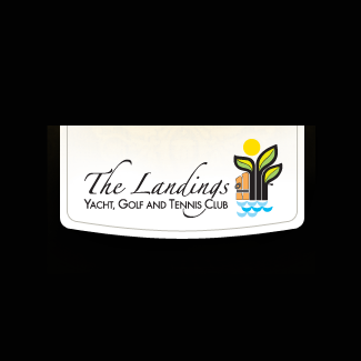Logo of golf course named Landings Yacht, Golf and Tennis Club