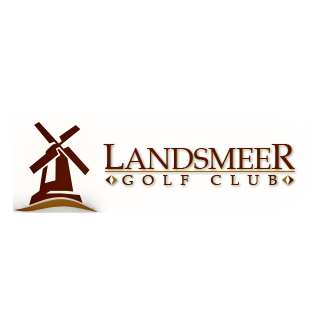 Logo of golf course named Landsmeer Golf Club