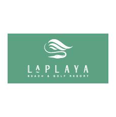 Logo of golf course named Laplaya Beach and Golf Resort