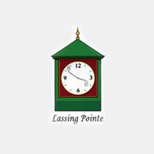 Logo of golf course named Lassing Pointe Golf Course