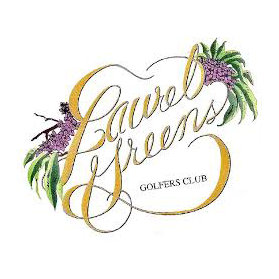 Logo of golf course named Laurel Greens Golf Course