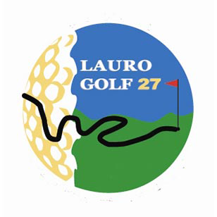 Logo of golf course named Lauro Golf Club
