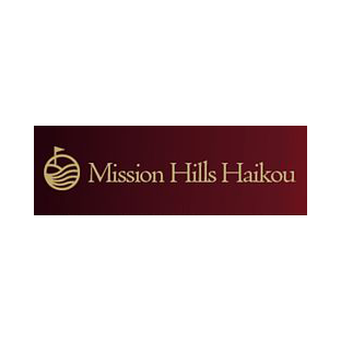 Logo of golf course named Lava Fields at Mission Hills Haikou