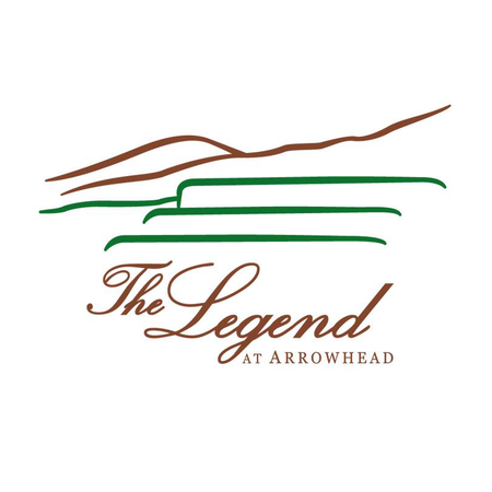 Logo of golf course named Legend at Arrowhead, The