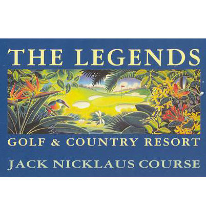 Logo of golf course named Legends (Nicklaus)