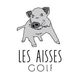 Logo of golf course named Les Aisses Golf