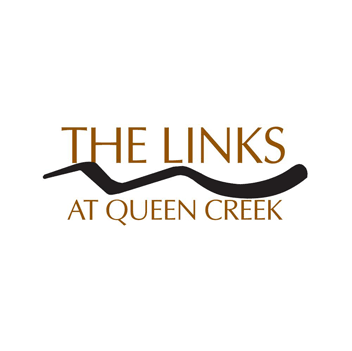 Logo of golf course named Links Golf Club at Queen Creek, The