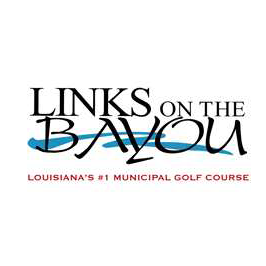 Logo of golf course named Links on The Bayou