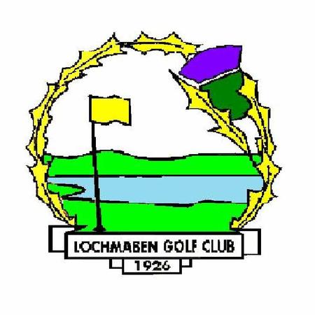 Logo of golf course named Lochmaben Golf Club